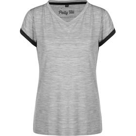 Pally'Hi Hike More Camiseta Mujer, grey/bluek
